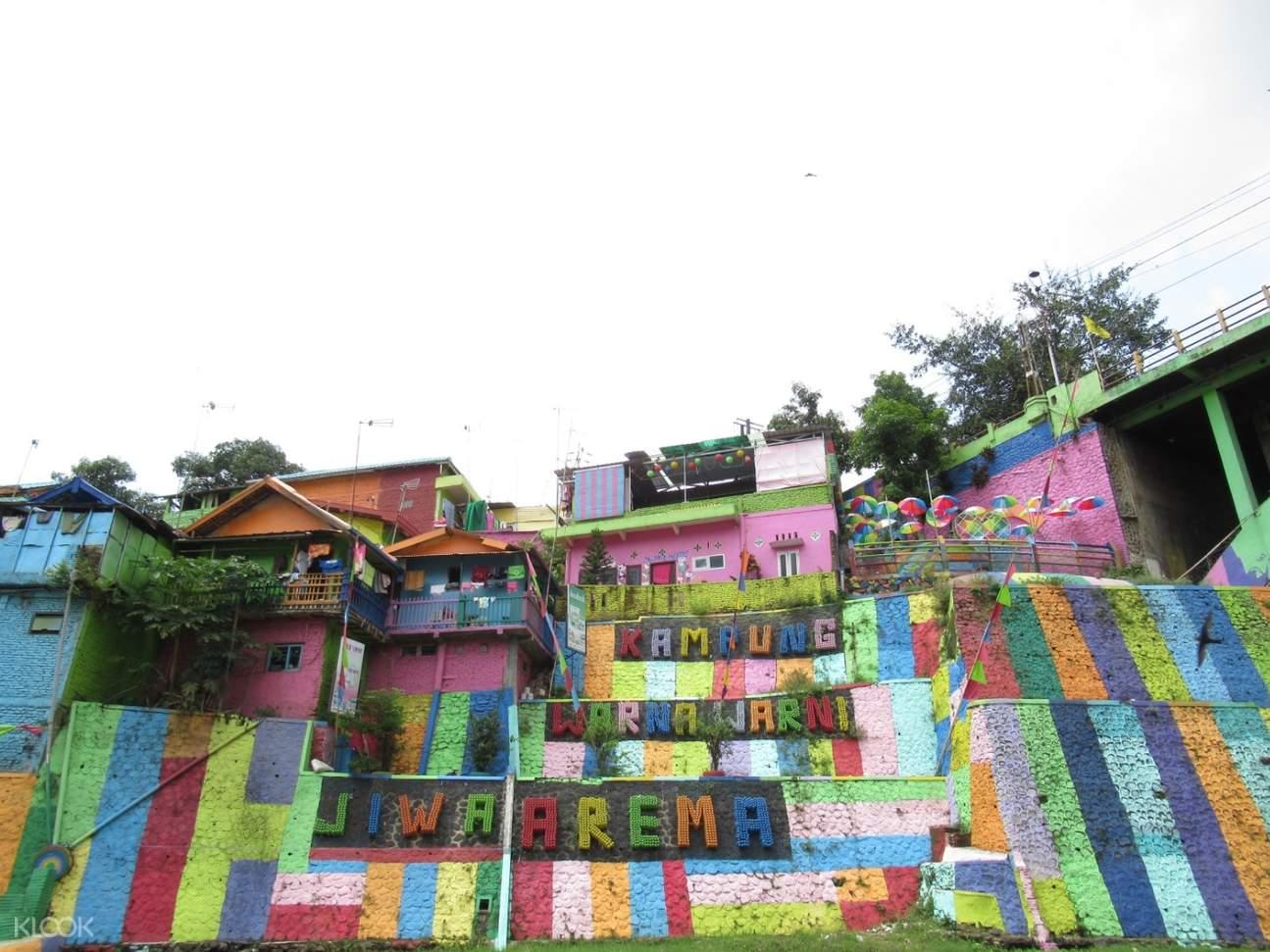 front of jodipan village